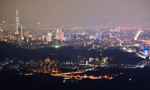 Taipei City Night View / 台北夜景 | by Clark5262