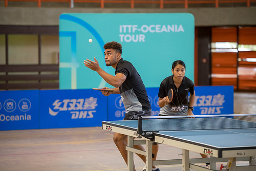 WING Philip & YEE Sally 2 | by ITTF-Oceania