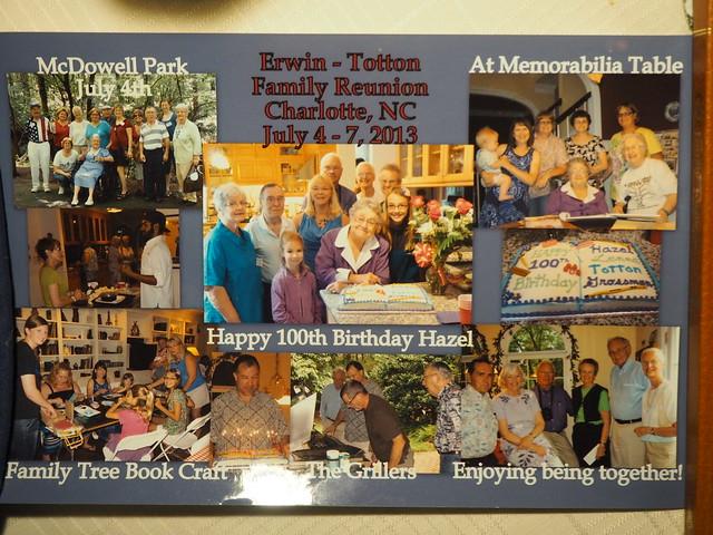 R5305283 2013 Hazel Lenna Totton Grossman 100th birthday Erwin family reunion