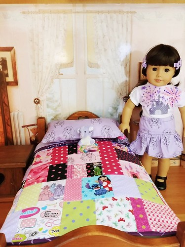 18 Inch Doll Bedding sold Castle T shirt /skirt for sale | by Stitchcottage
