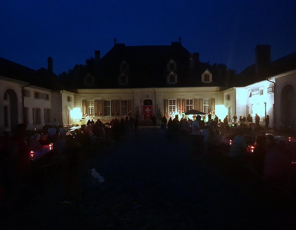 Bundesfeier 2018 im Schloss Thunstetten