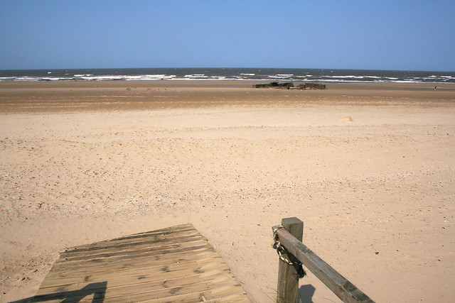The beach at Titchwell