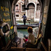 The last stop of my Venice adventure. An amazing bookstore - Libreria Acqua Alta by Magda Banach