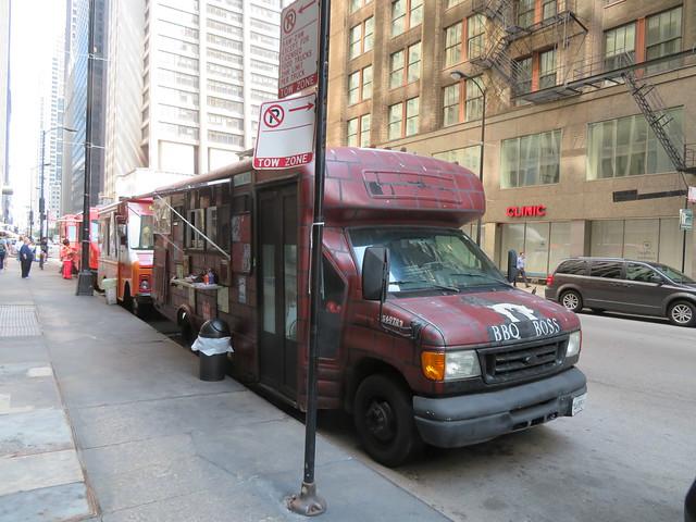 Food Trucks - Clark Street, Chicago