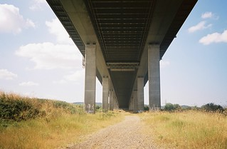 Under the M5, on the Pill side | by knautia