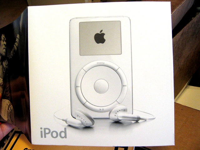 First-gen iPod packaging on Flickr
