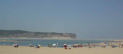 olha a bela praia