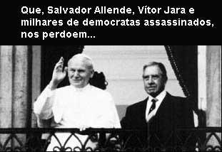 Papa e Pinochet
