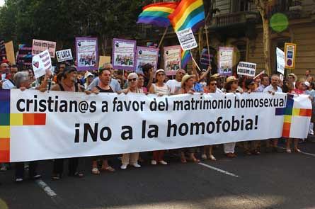 Grupos cristianos contra la homofobia