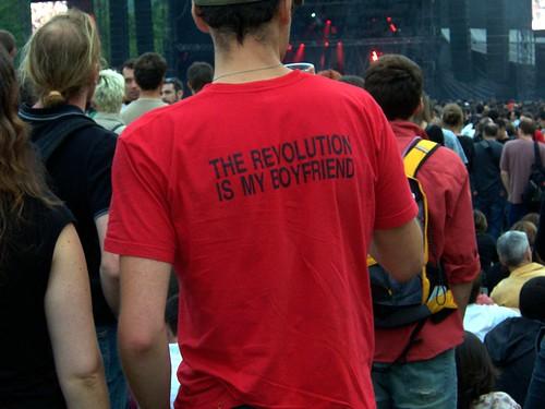 the revolution is my boyfriend.   by misscaro