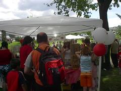 Deweys Canada day Booth 2005