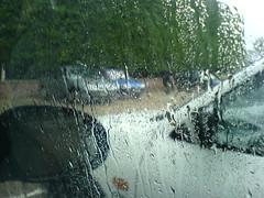 Hailstones in July