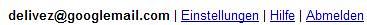 New Gmail Address