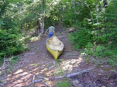 Dragging the Canoe