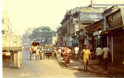 Calcutta street, Aug. 1974