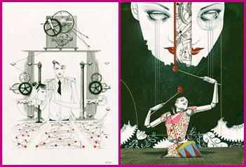 Ilustraciones de Richard Gray