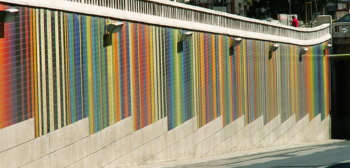 X colors, textures, lines 6