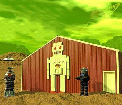 Robot Hut