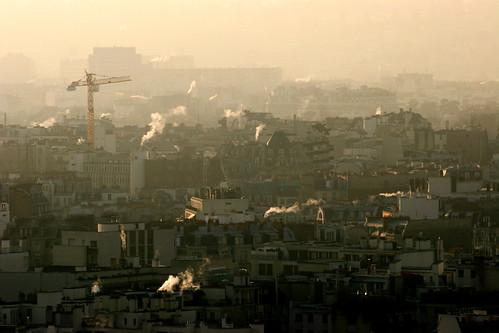 le 16ème arrdt de Paris vu depuis une tour du front de seine