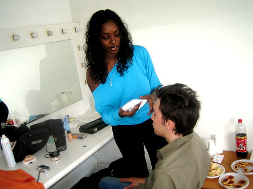 Making the video 'One love', june 2005 - 20