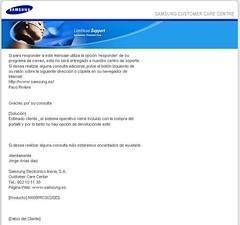 Samsung no cumpleix la CLUF