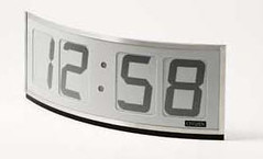 e-ink clock