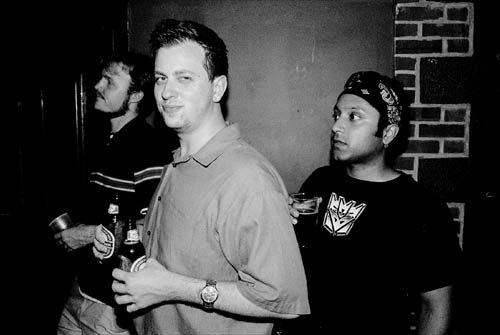 Martin, Mike and Kanishka