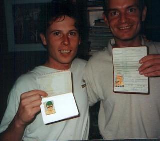 Tjeerd and Michael