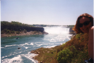 Debra and Niagara Falls