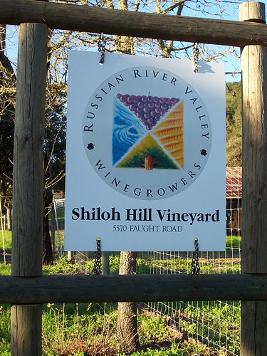 Russian River Valley Winegrowers Association sign @ Shiloh Hill Vineyard | by northbaywanderer