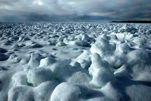 winter snow ice landscape michigan lakemichigan petoskey littletraversebay martinmcreynolds impressedbeauty