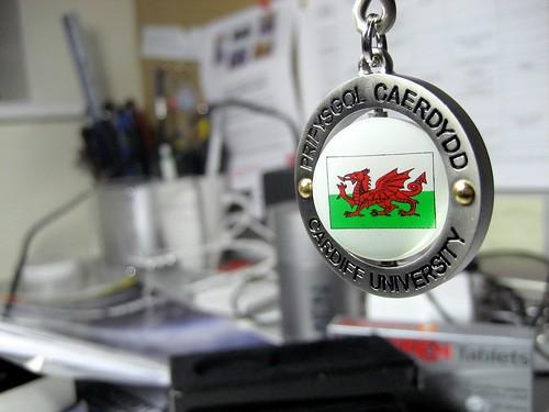 Cardiff University Keyring