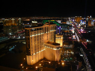 View from top of Eiffel Tower, Paris Hotel, Las Vegas 2 | by gruntzooki