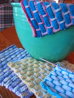 More spring dishcloths to give away
