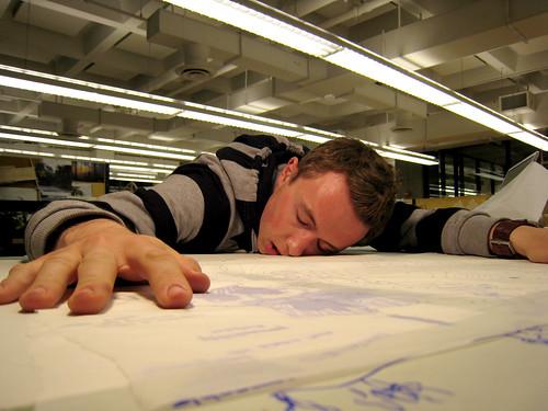 017   exhaustion in studio   by orphanjones