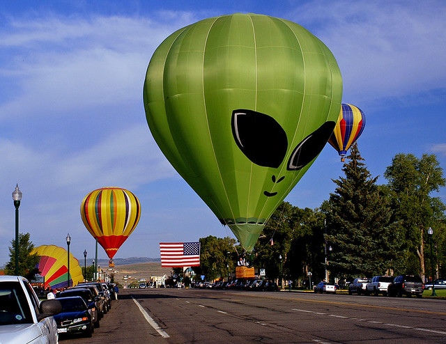 Alien in Gunnison