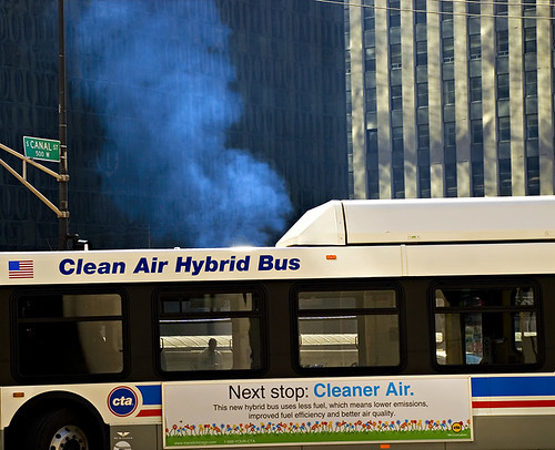 Next Stop: Cleaner Air | by swanksalot