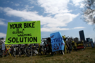 Your Bike is a Global Warming Solution | by Tony Webster