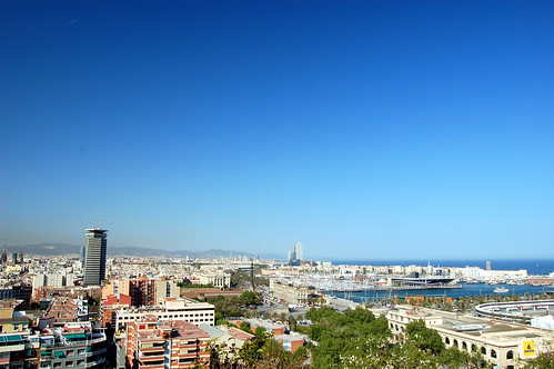 Barcelona overview from Montjuïc | by bjaglin