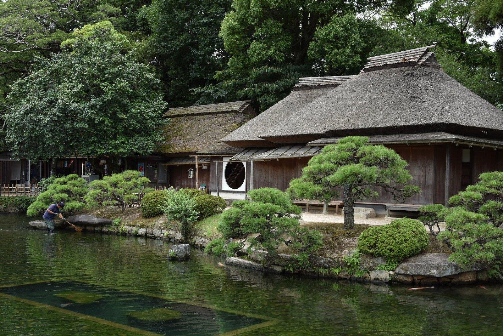 Jardins de Kôraku-en - pavillon Renchi