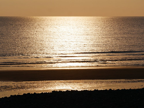 Sunlight over the Sea