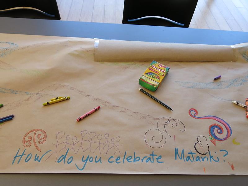 Matariki whānau fun day at Ōrauwhata: Bishopdale Library and Community Centre