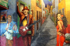 San Antonio - Dowtown: Mi Tierra - The American Dream