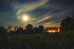 Moonlight in Herrnsheim