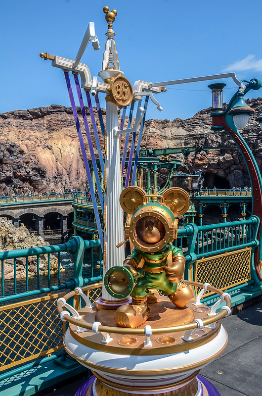 Mickey undersea 35 Mysterious Island TDS