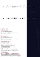 Cartel Jornadas Tipográficas