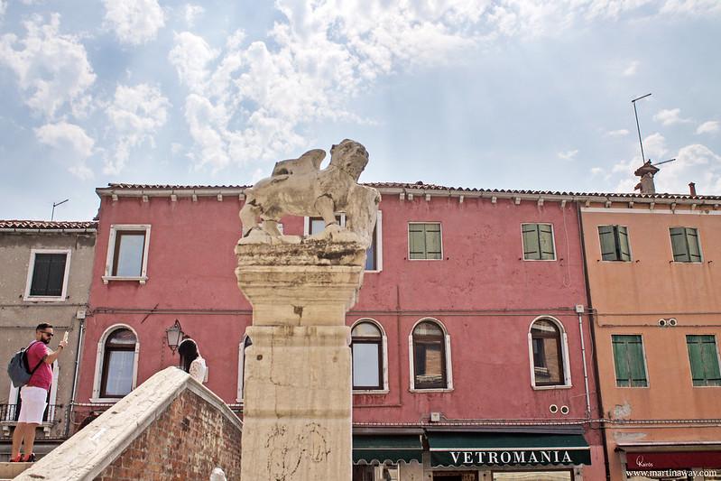 Colonna del Bando, Murano