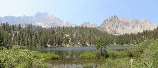 0058 Gilbert Lake on the Kearsarge Pass Trail with University Peak on the left | by _JFR_