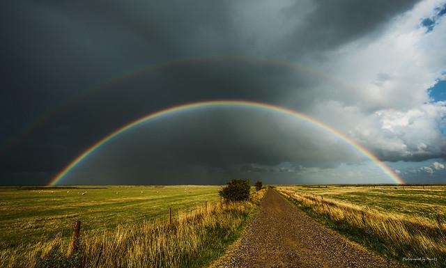 Dänemark - Römö - Regenbogen