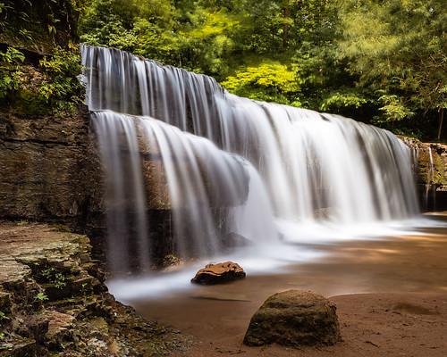 forest hiddenfalls hiking leebigstopper longexposure mn minnesota nerstrandbigwoodsstatepark park rock rocks slow state travel water waterfall